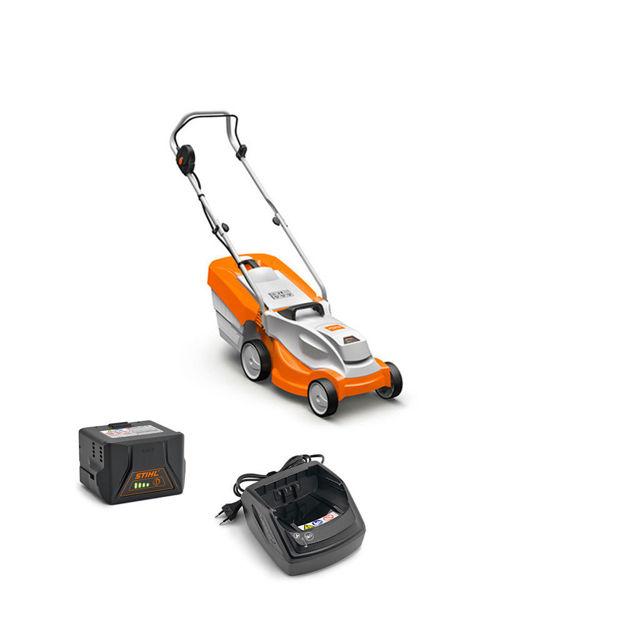 Immagine di Set Tosaerba RMA 235 con batteria e caricabatteria