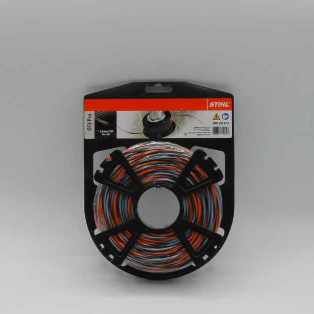 Image de filo diametro croce 3,3mm. 36mt. stihl
